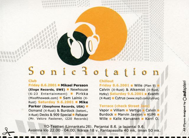 Sonic Rotation