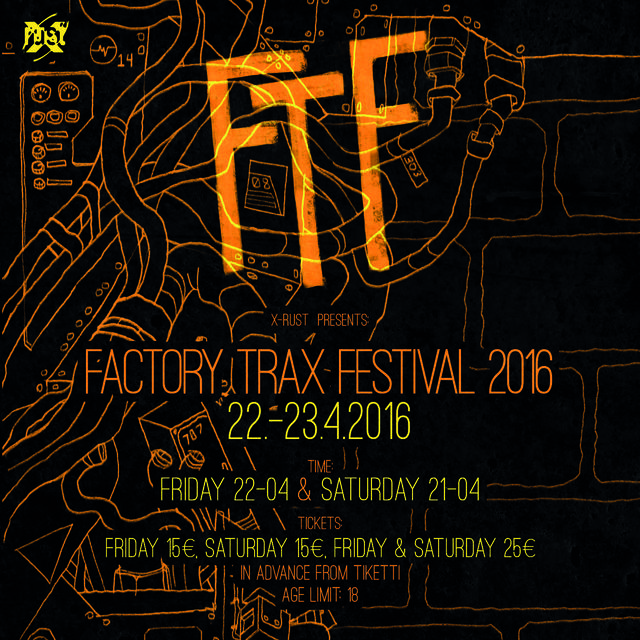FACTORY TRAX FESTIVAL 2016 -flyer 1/2