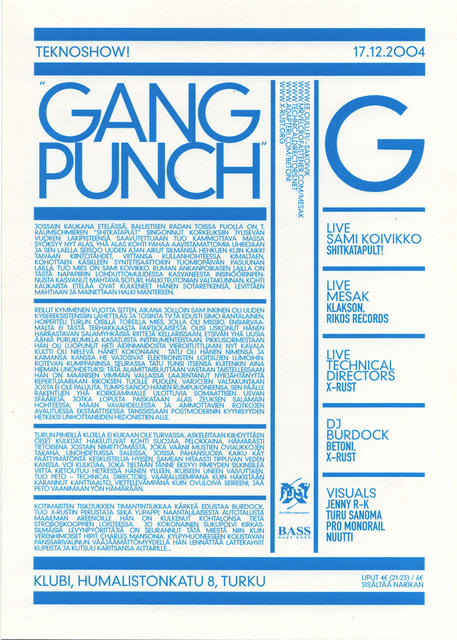 Gang Punch 2/2