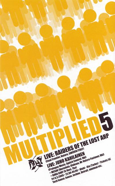 Multiplied V