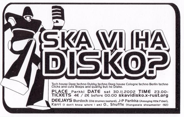 Ska Vi Ha Disko?