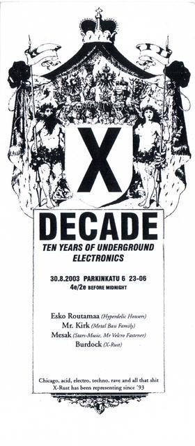 X-Decade