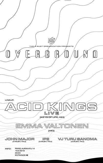 Overground poster