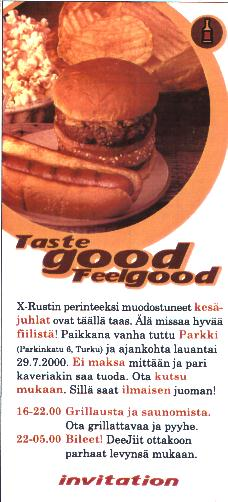 Taste Good Feel Good 1